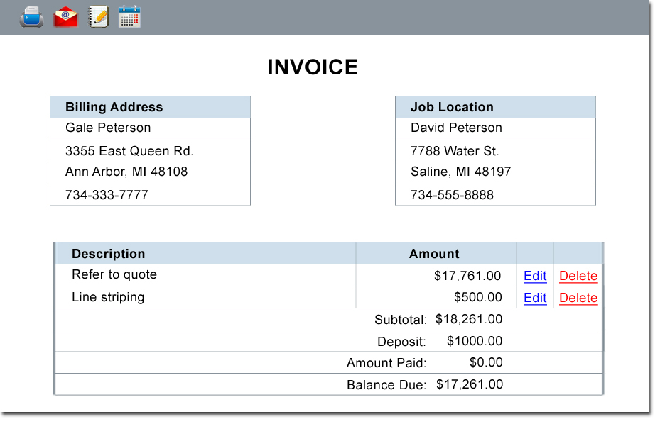 Estimating Scheduling And Invoicing Software For Paving And - Scheduling and invoicing software